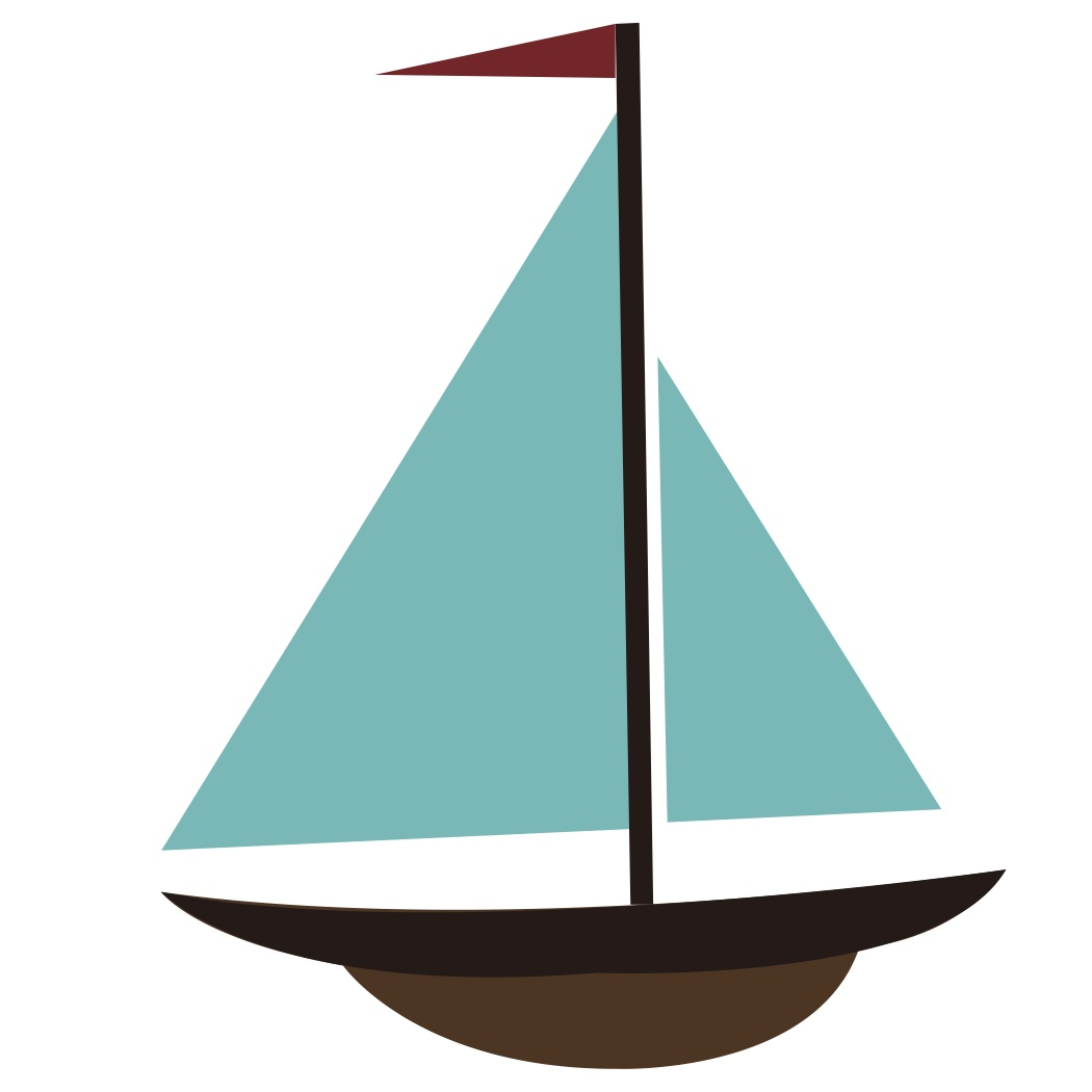 Sailboat cartoon boat clip art.