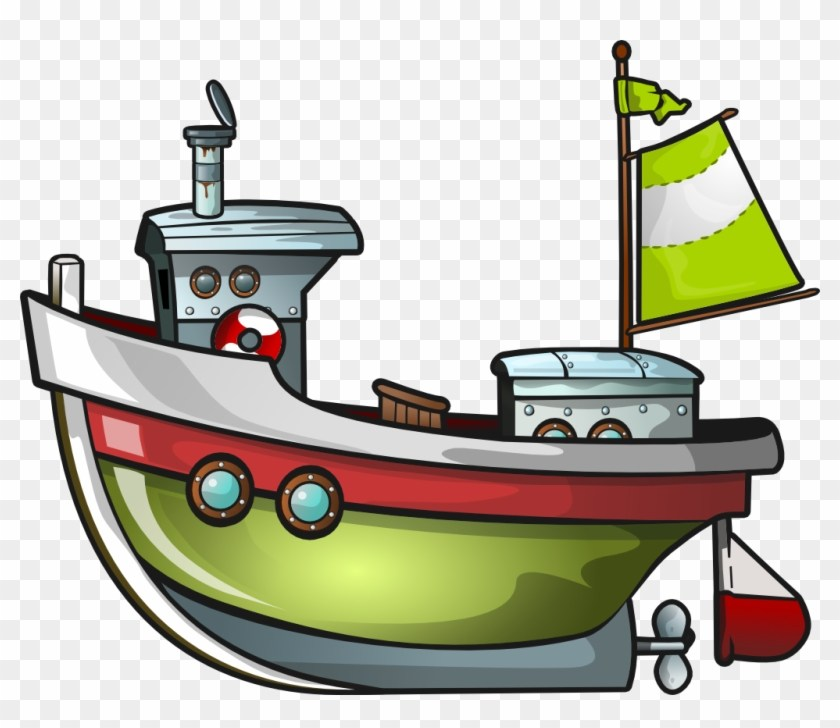 Cartoon fishing boat clipart 2 » Clipart Portal.
