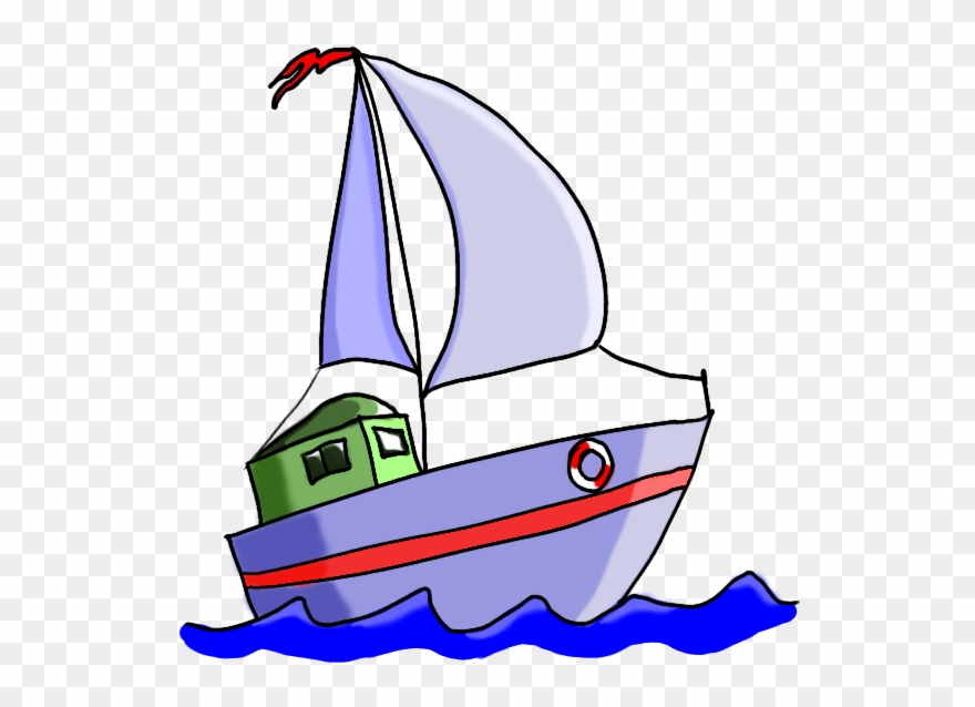 Cartoon Boat.