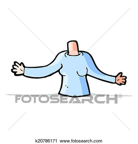 Cartoon body (mix and match cartoons or add own photos) Clipart.