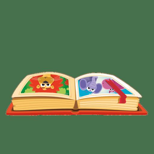 Cartoon book.
