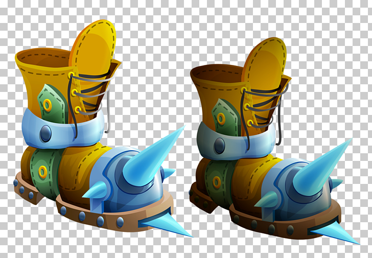 Cartoon Boot Illustration, Cartoon boots PNG clipart.