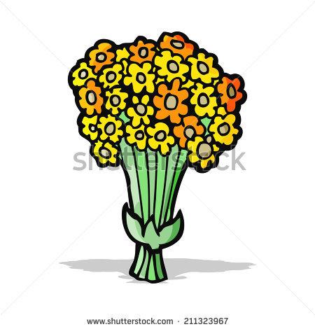 Bunch Flower Cartoon Stock Vectors & Vector Clip Art.