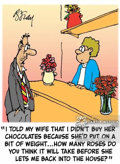 Bouquets Cartoons and Comics.