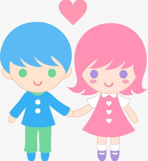 Cartoon Boy And Girl PNG, Clipart, Animation, Boy Clipart.