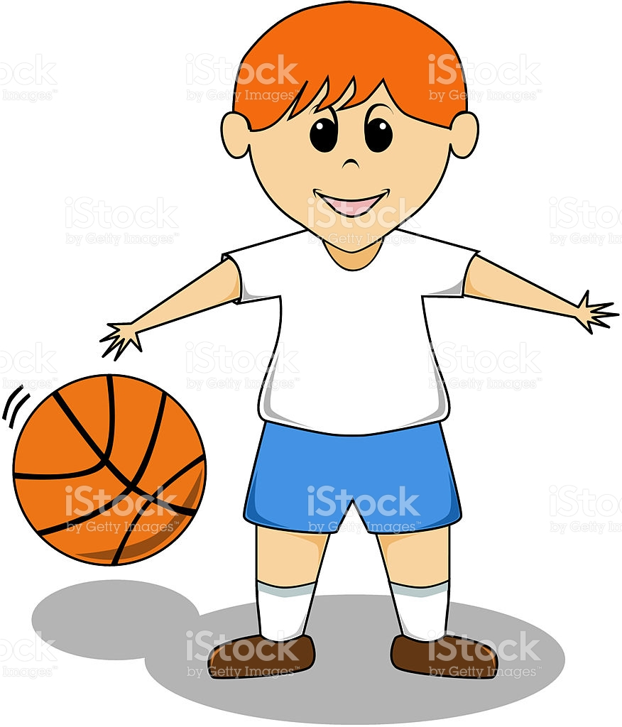 Cartoon Boy Basketball stock vector art 167922504.
