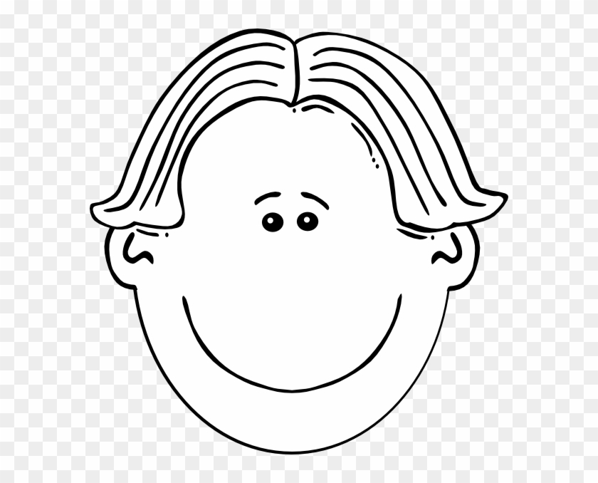 Graphic Freeuse Boy Face Clipart Black And White.