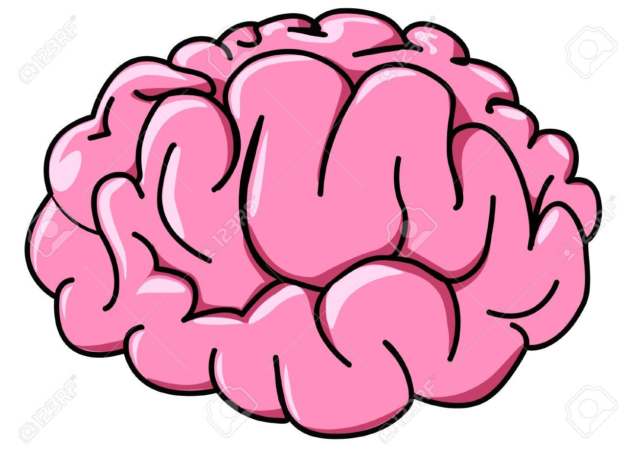 Cartoon brain clipart 6 » Clipart Station.