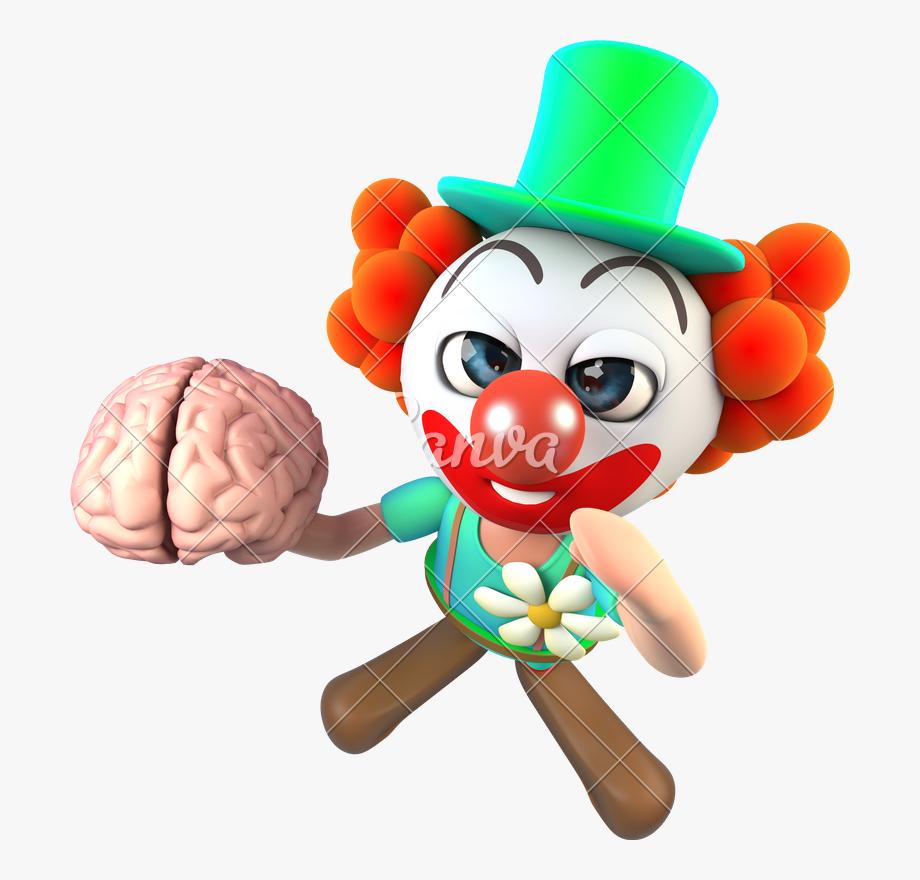 Cartoon Brain Png Transparent Background.