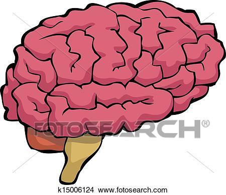 Cartoon brain Clipart.