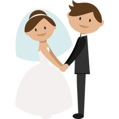 18 Best Bride and groom cartoon images in 2017.
