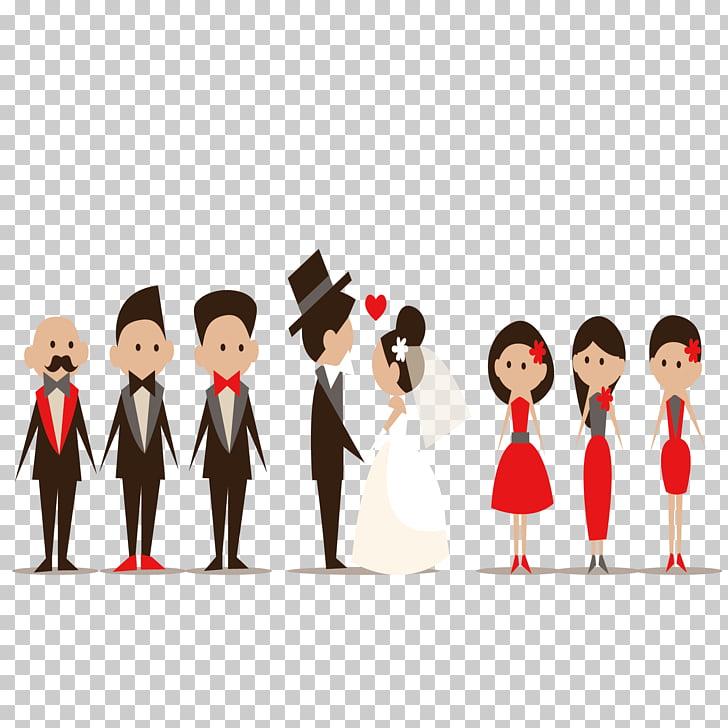 Groomsman Marriage Bridesmaid Bridegroom, Wedding material.