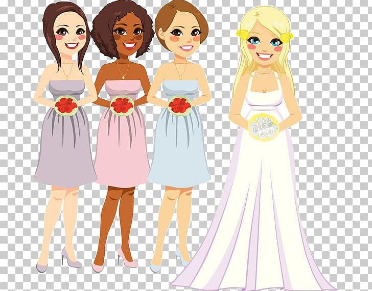 Bridesmaid Stock Photography Illustration PNG, Clipart.