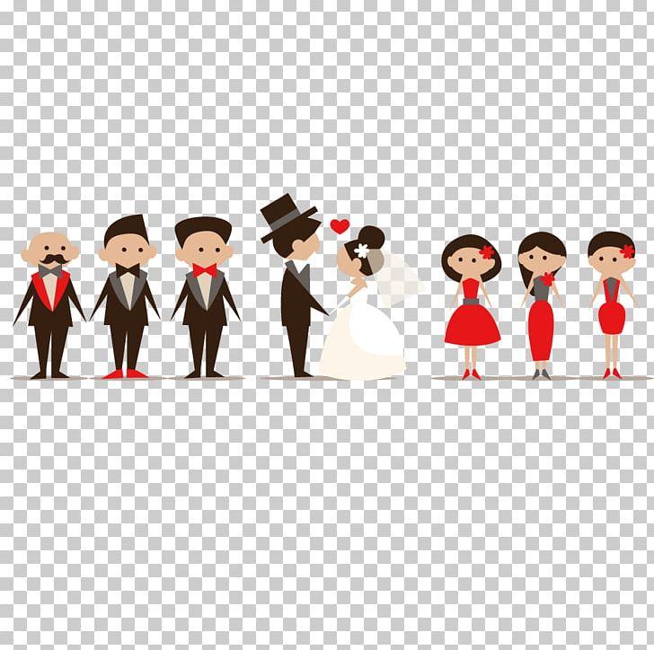 Wedding Invitation Cartoon PNG, Clipart, Bride, Bridegroom.