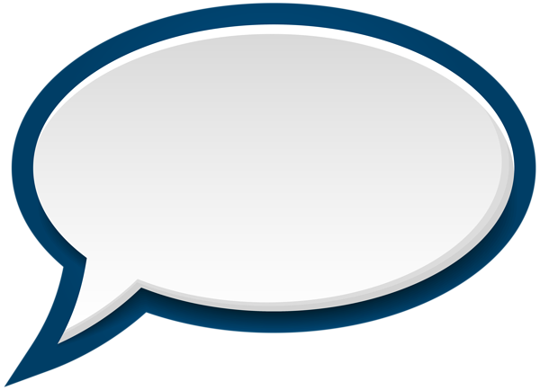Free Clipart Speech Bubbles.