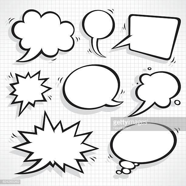 60 Top Speech Bubble Stock Illustrations, Clip art, Cartoons.