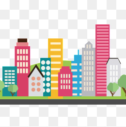 Cartoon Buildings Png, Vector, PSD, and Clipart With Transparent.
