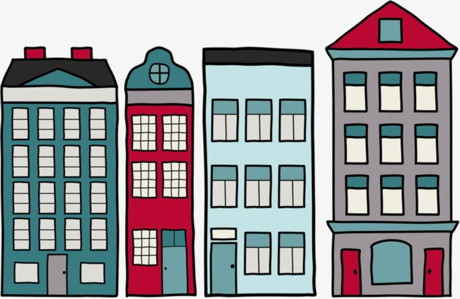 Cartoon buildings clipart 5 » Clipart Portal.