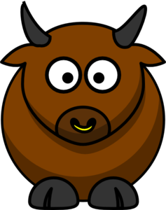 Bull Clip Art at Clker.com.