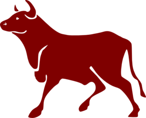 Cartoon Bull Clip Art at Clker.com.
