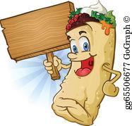 Burrito Clip Art.