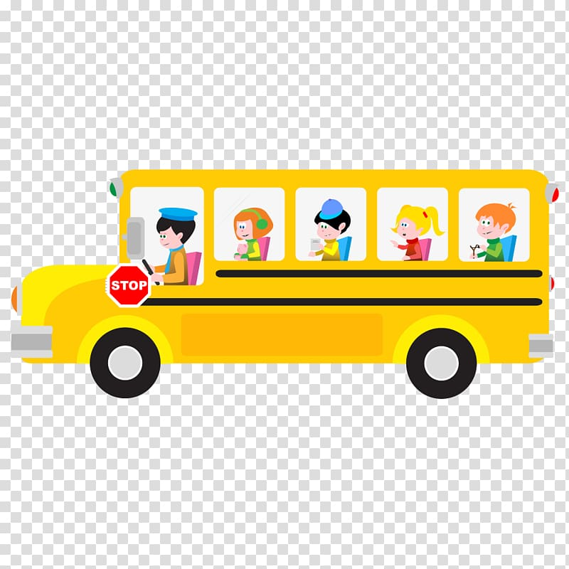 Yellow school bus , School bus Cartoon , school bus.