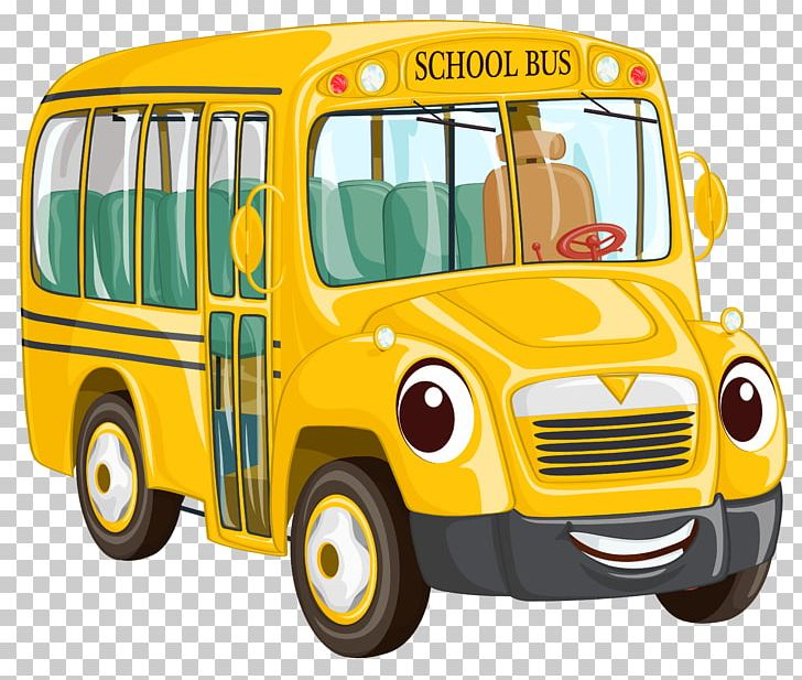 School Bus Cartoon PNG, Clipart, Articulated Bus, Automotive Design.