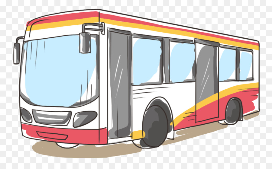 Bus Cartoon png download.