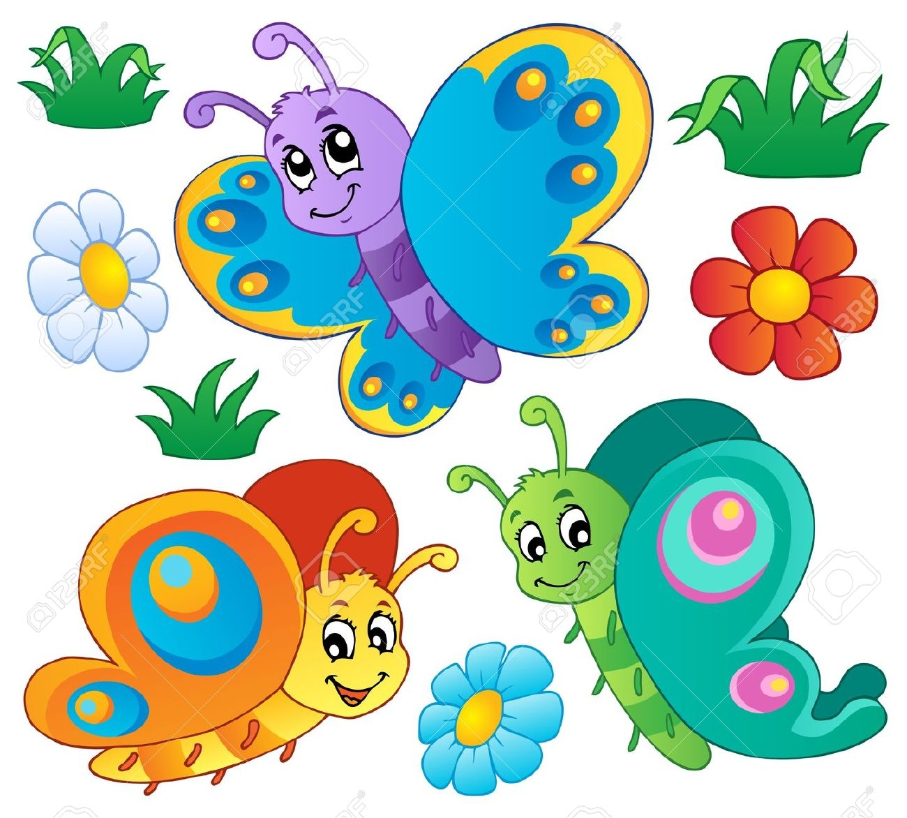 Free Cartoon Butterfly Cliparts, Download Free Clip Art, Free Clip.