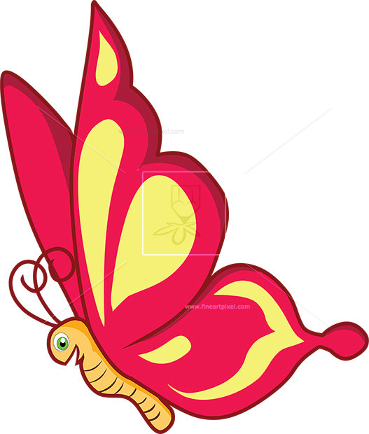 Cartoon Butterfly.