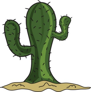 Cartoon Cactus Smu.