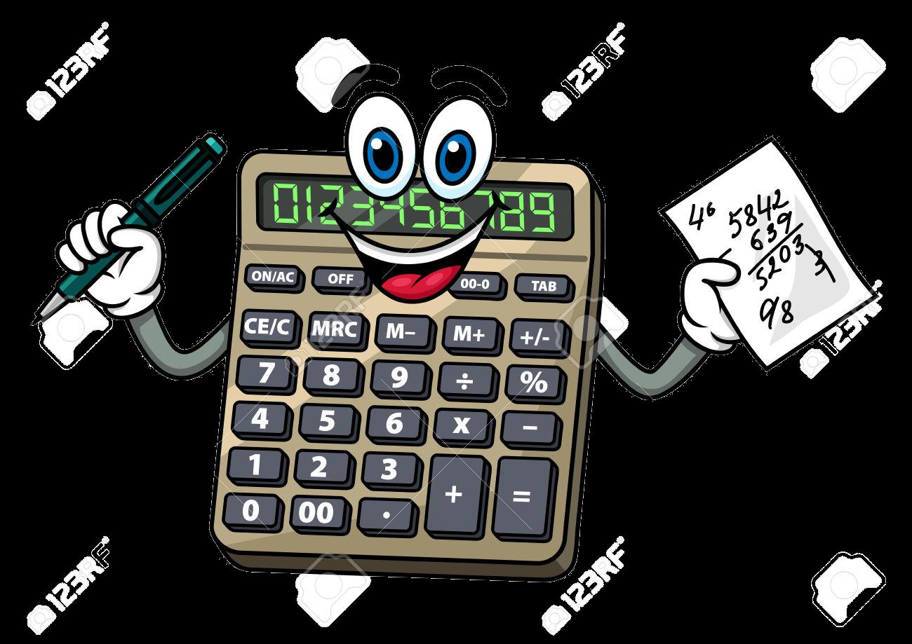 Calculator Clipart Cartoon Clip Art Transparent Png.