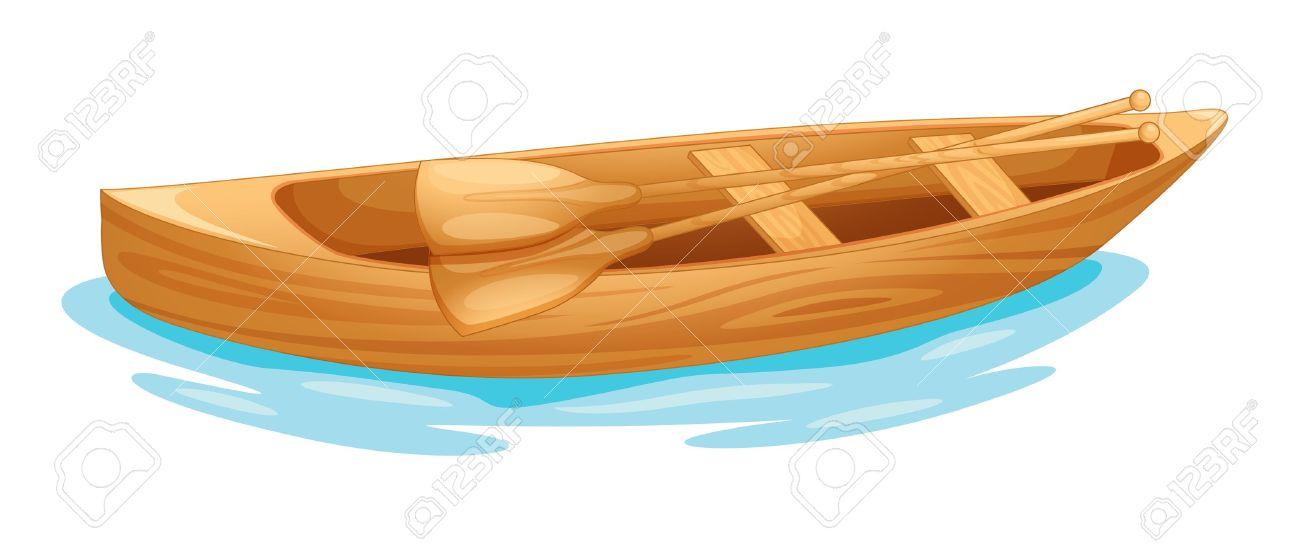 Canoe Boat Clipart.