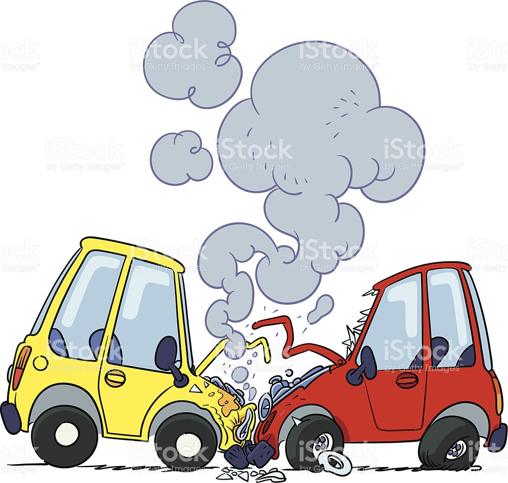 Accident Cartoon Clipart.