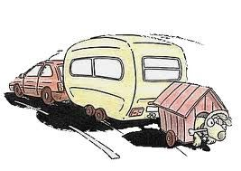 Image result for cartoon caravan clipart.