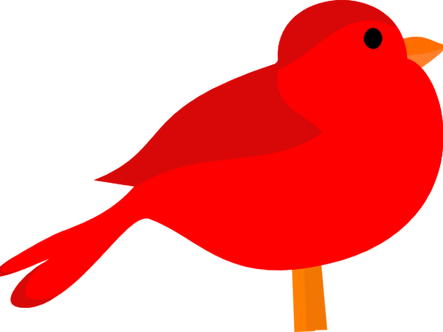 Cardinal Clipart Red Colour.