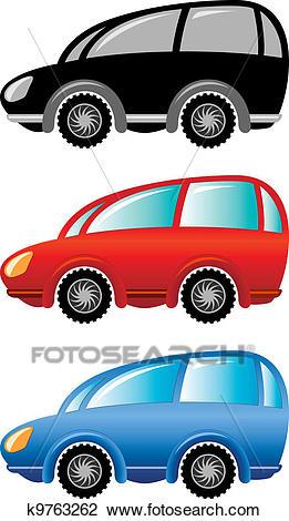 Cartoon cars Clipart.