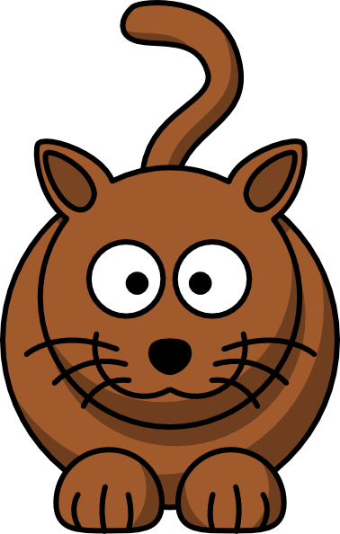 Cartoon Cat Clip Art at Clker.com.