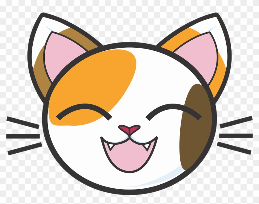 Calico Cat Face Vector Library Download.
