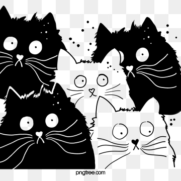 Cartoon Cat Png, Vector, PSD, and Clipart With Transparent.