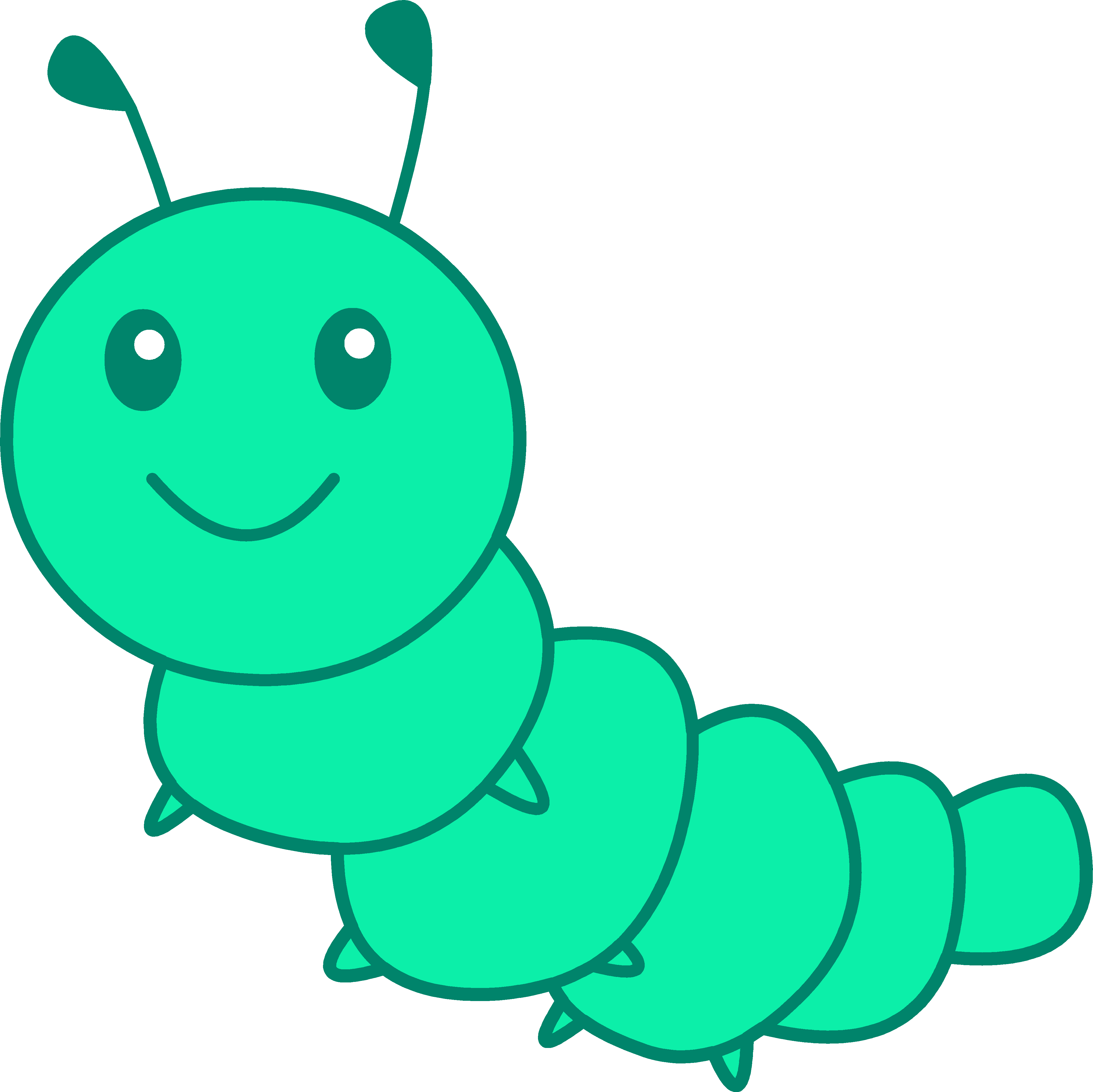 Free Pictures Of Cartoon Caterpillars, Download Free Clip.