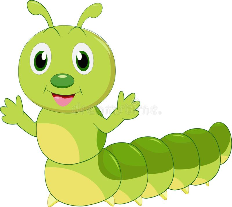 Cartoon Caterpillar Stock Illustrations.