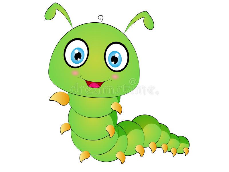 Cartoon Caterpillar Stock Illustrations.