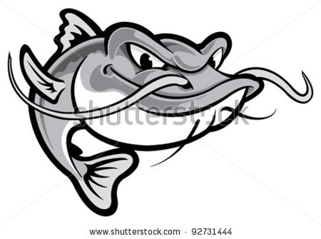 Pics Photos Catfish Cartoon Clip Art.