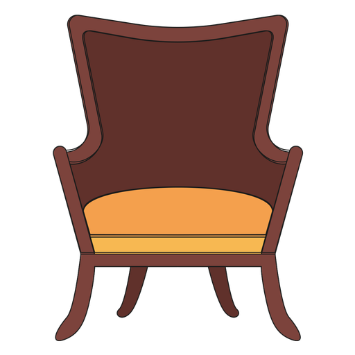 Cartoon Chair Png Vector, Clipart, PSD.