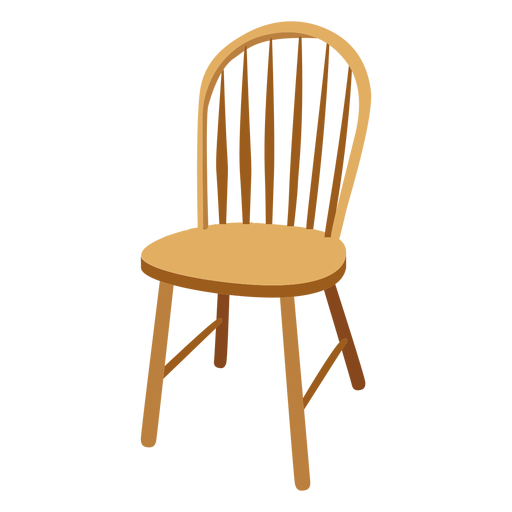 Windsor chair cartoon.