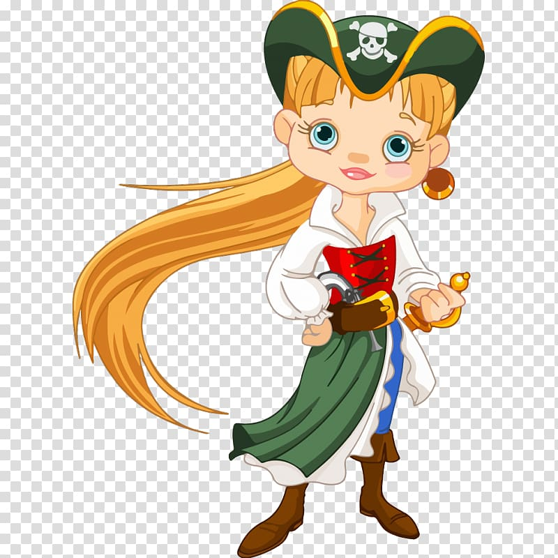 Piracy Cartoon Drawing, child transparent background PNG clipart.