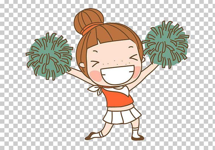 Cartoon Cheerleading PNG, Clipart, Art, Baby Girl, Balloon Cartoon.
