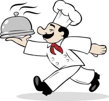 Cartoon Chef.