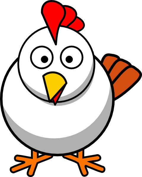 Cartoon chicken clipart 3 » Clipart Portal.